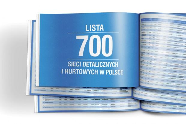 Lista 700 sieci detalicznych i hurtowych w Polsce - edycja 2017