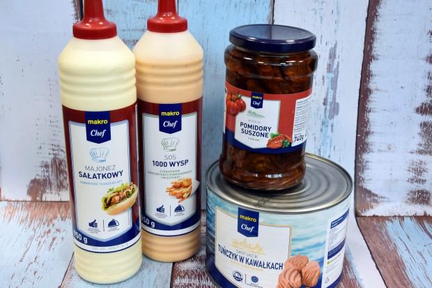 Makro wprowadza 3 marki własne dla gastronomii