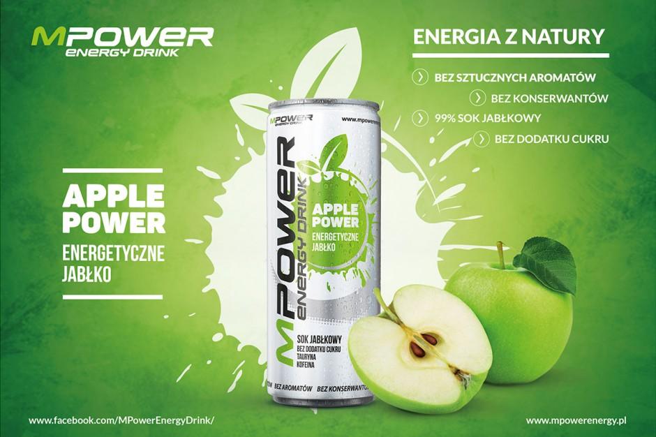Na rynku pojawił się nowy energetyk na bazie soku jabłkowego