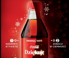 Coca-Cola rusza ze świąteczną kampanią i limitowaną edycją opakowań