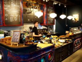 Green Caffè Nero z drugą kawiarnią w Krakowie
