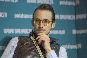 Tomek Woźniak na FRSiH 2017: Często nie jemy tego, co sami chcemy, tylko to, co jedzą inni
