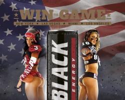 Black Energy Drink współpracuje z zawodniczkami ligi futbolu amerykańskiego