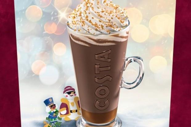 Costa Coffee wprowadziła zimowe menu