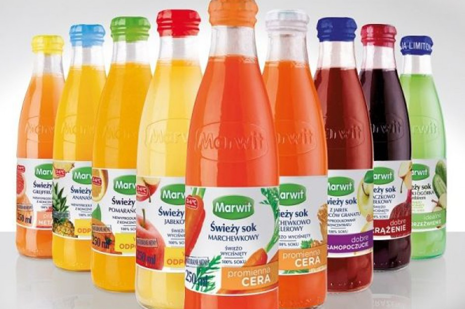 Prezes Marwitu: Polacy chętnie piją soki