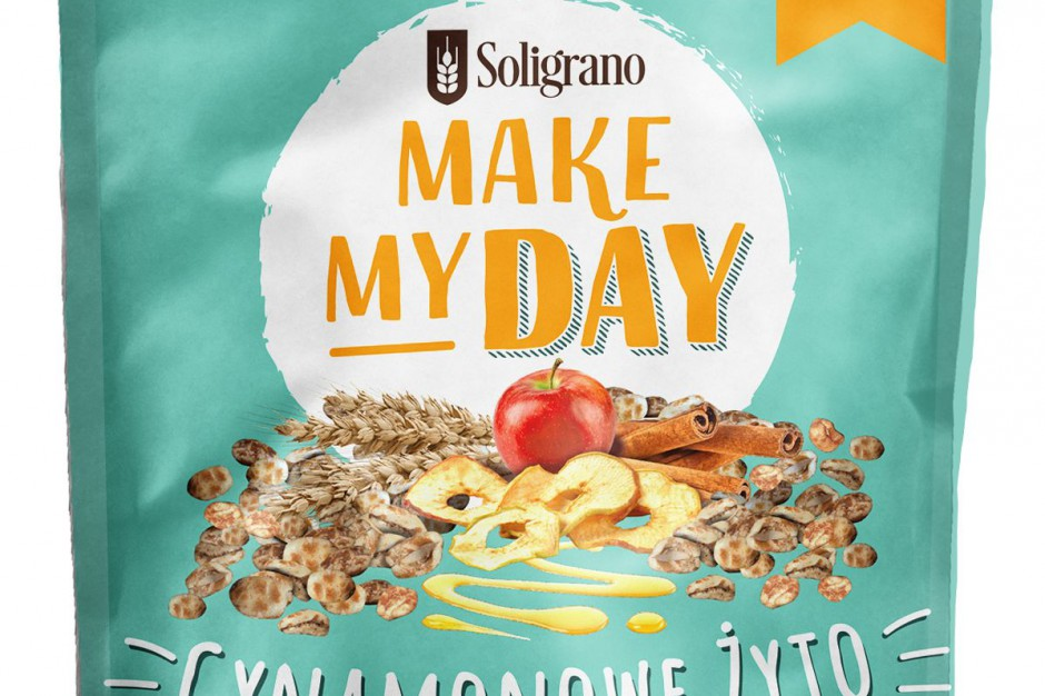 Make my day - nowe płatki śniadaniowe Soligrano