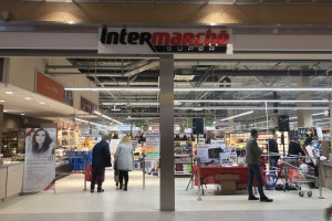 Intermarché z supermarketem w Lublinie