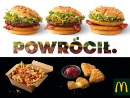 Burger Drwala powraca do oferty McDonald's