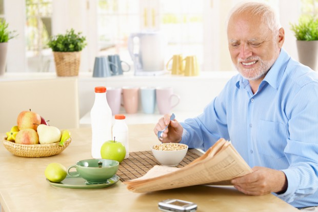 Nadwaga i otyłość nie szkodzą seniorom?