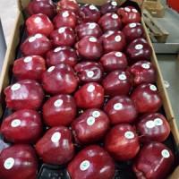 Jabłka z Ukrainy na półkach sklepowych w Skandynawii