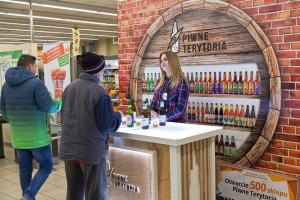 Eurocash rozwija projekt wpierający sprzedaż piw rzemieślniczych, współpracuje z 11 browarami