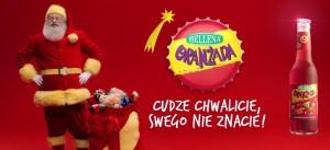 Oranżada Hellena rusza ze świąteczną kampanią reklamową