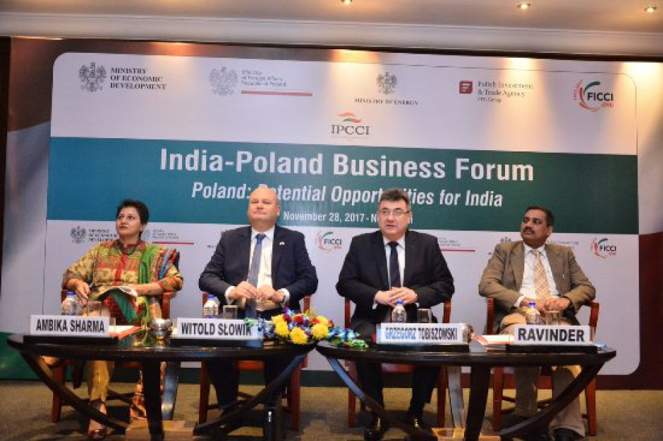 Polska-Indie: Dostawy maszyn i urządzeń do przetwórstwa spożywczego