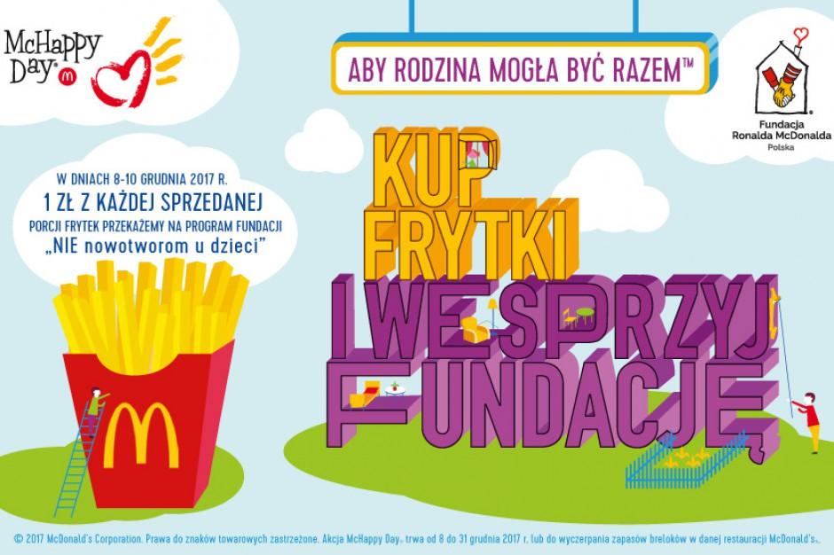 W McDonald's rusza charytatywna akcja McHappy Day