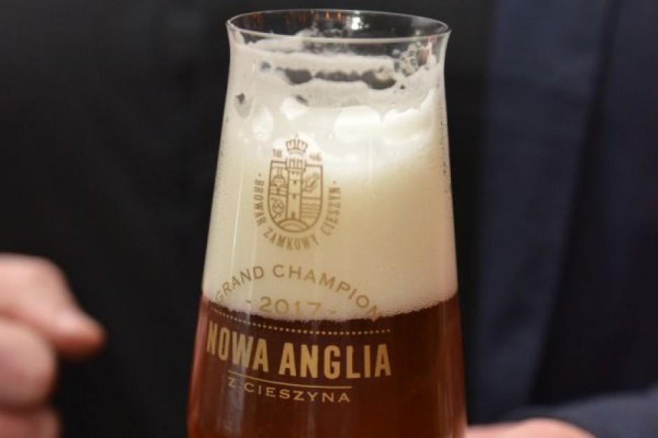 Nowa Anglia z Cieszyna, Grand Champion piw domowych 2017, dostÄ™pne w sklepach
