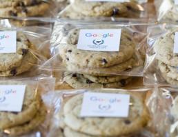 Ciasteczka z czekoladą stworzone przez sztuczną inteligencję Google
