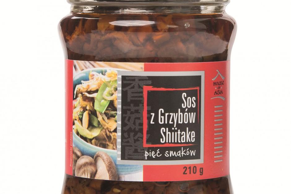 House of Asia wprowadza sos z grzybów shiitake