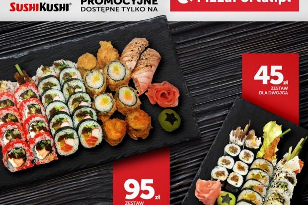 Sushi Kushi w ofercie PizzaPortal.pl