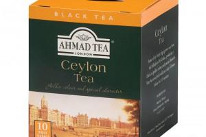 Herbaty Ahmad Tea London w nowych opakowaniach zawierających 10 torebek