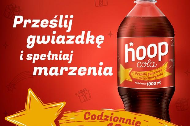 Hoop Cola promocja konsumencka i nowy smak w limitowanej edycji na święta