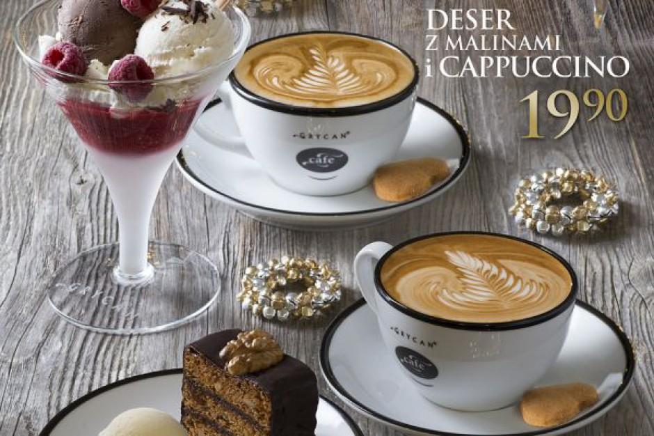 Świąteczne duety w lodziarnio-kawiarniach  Grycan – Lody od pokoleń