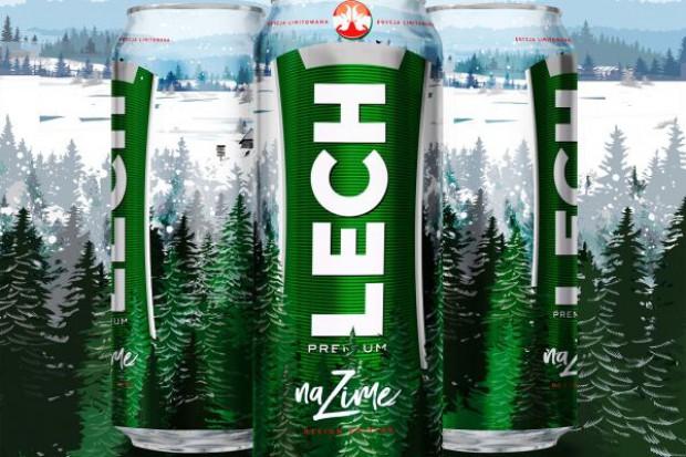 Lech na zimę z limitowanymi puszkami i zimową kampanią