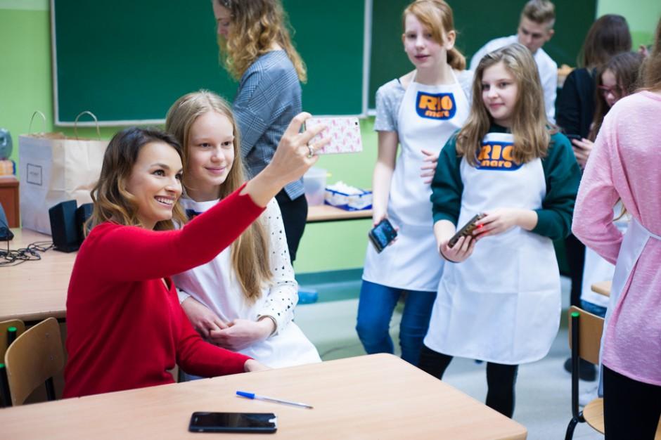 Rio Mare i Ania Starmach edukują uczniów podstawówek