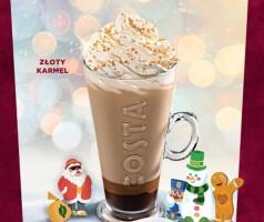 Złoty Karmel – nowość w kawomatach Costa Express