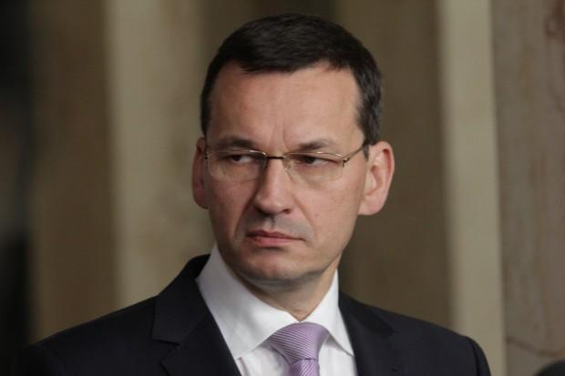 Morawiecki: wejście Polski do strefy euro nie jest tematem, który dziś bierzemy pod uwagę