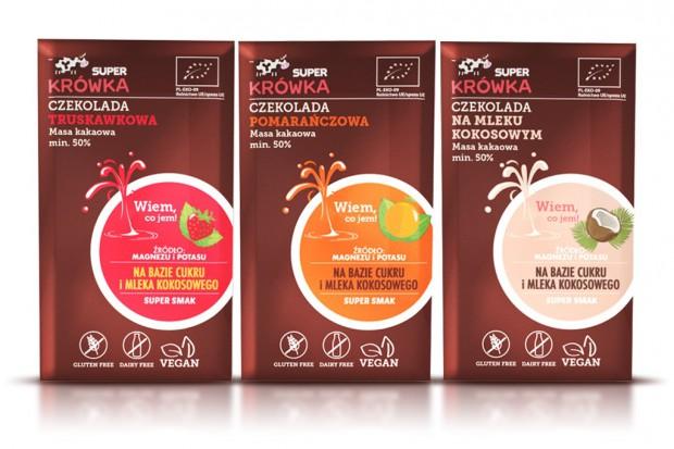 Producent cukierków Super Krówka rozszerza portfolio o czekolady