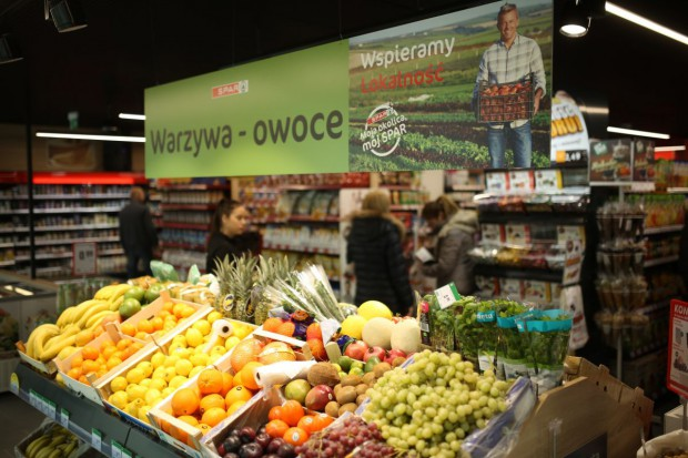 Spar Polska w 2018 r. wprowadza nowy standard wyglądu sklepów (galeria zdjęć)
