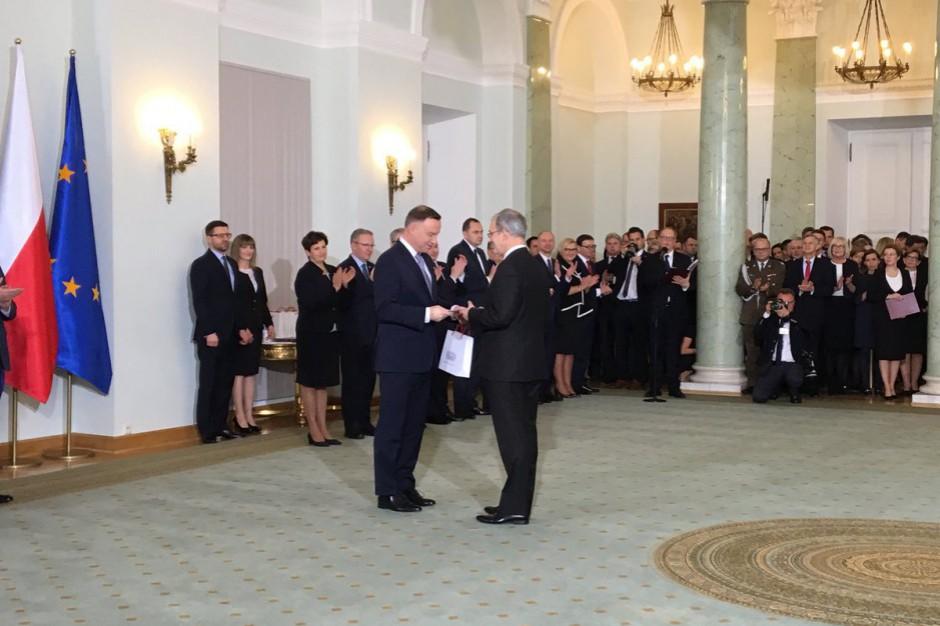 Rekonstrukcja rządu: Prezydent A. Duda powołał nowych ministrów
