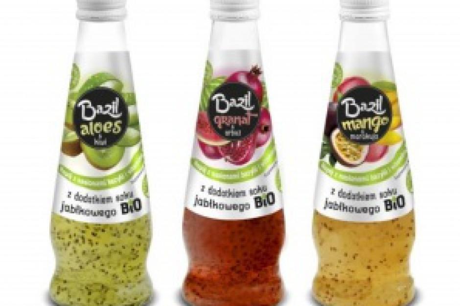 Excellence rozszerza portfolio o napoje Bazil z nasionami bazylii