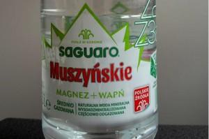 Czy wodę Saguaro Muszyńskie można pomylić z Muszynianką?