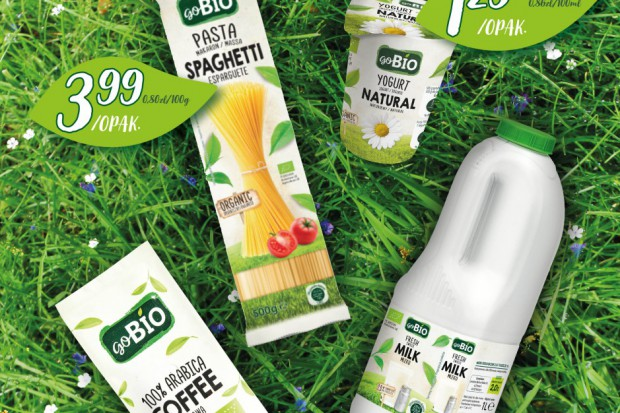 Biedronka wprowadza produkty ekologiczne pod marką własną goBio