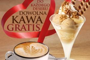Z okazji Dnia Babci i Dziadka u Grycana do każdego deseru kawa gratis