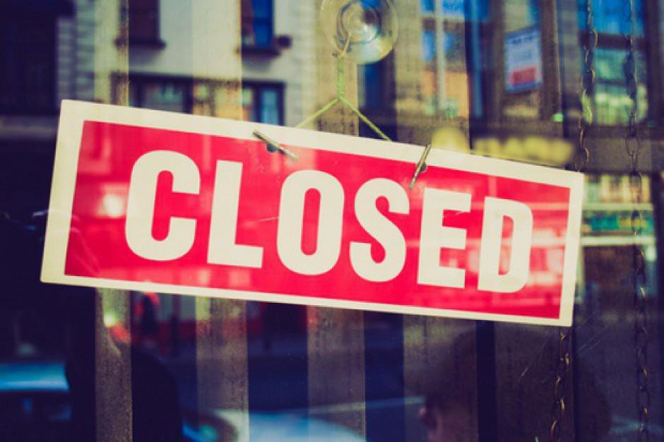 Czarny rok dla sklepów