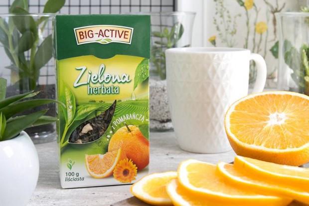 Big-Active prezentuje kampanię reklamową zielonych herbat