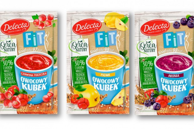 Delecta wprowadziła kisiel z dodatkiem superfoods