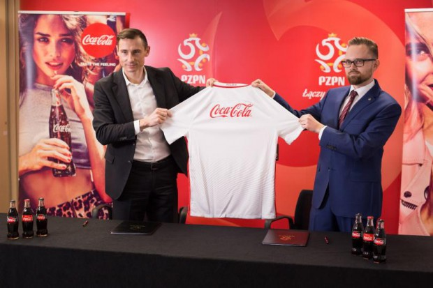 Coca-Cola oficjalnym sponsorem piłkarskiej reprezentacji Polski