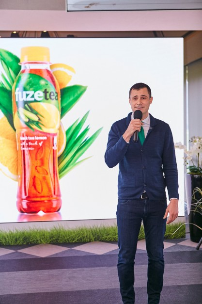 Zdjęcie numer 1 - galeria: Coca-Cola poszerza swoje portfolio o nowy napój Fuzetea (galeria)
