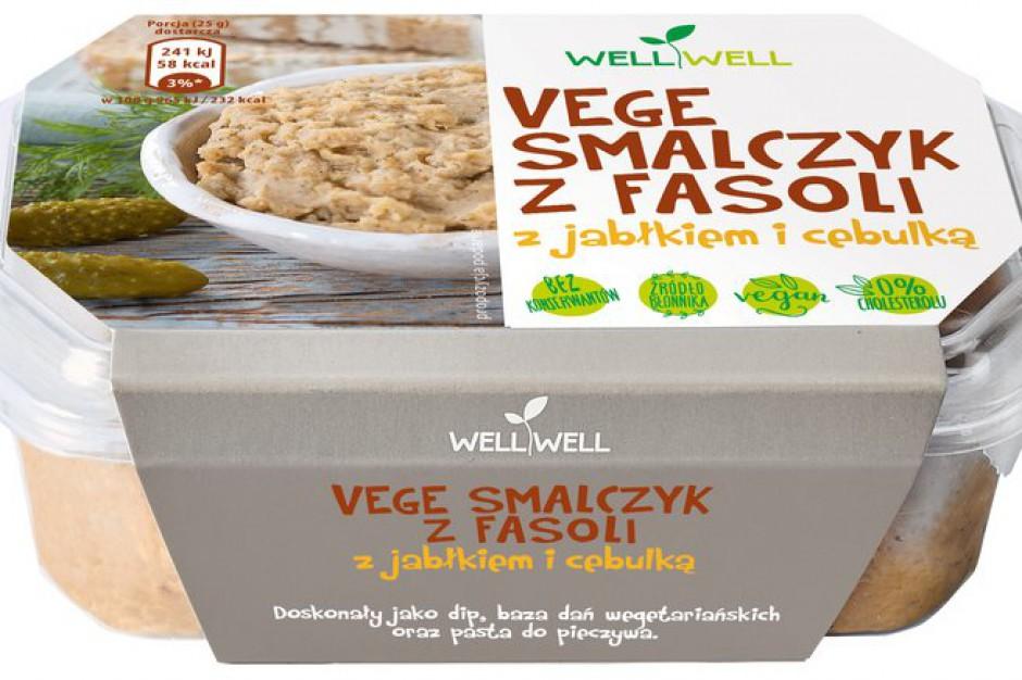 Smalec dla wegetarian - nowy produkt Well Well