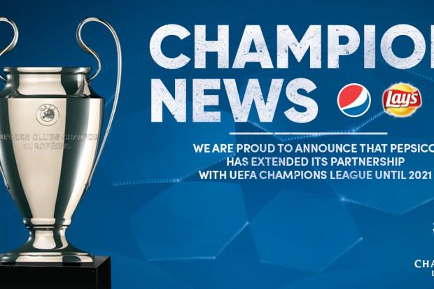 PepsiCo przedłuża umowę sponsorską z Ligą Mistrzów UEFA