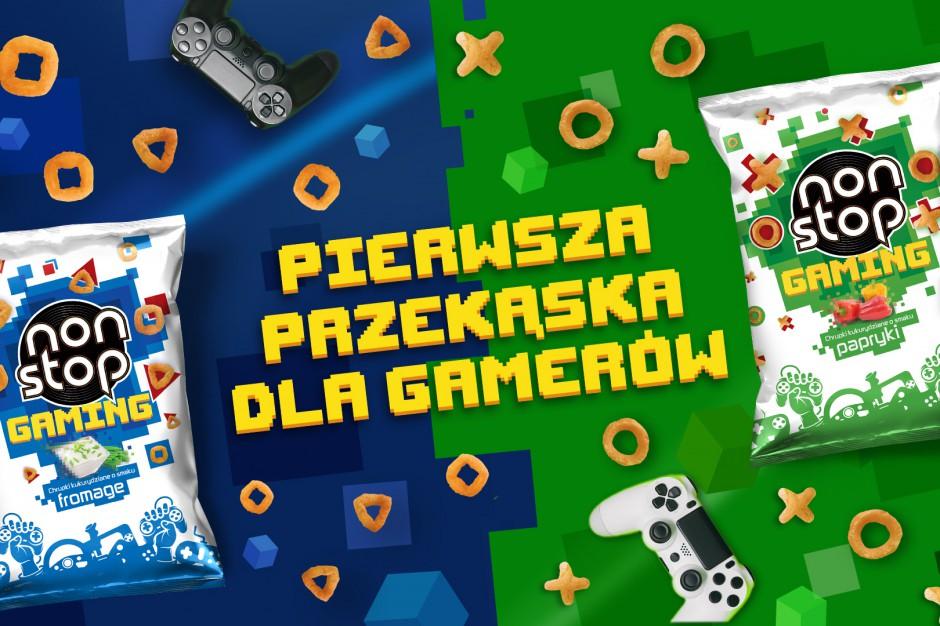 Non Stop Gaming – chrupki w kształcie przycisków gamepada