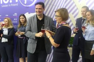 Zdjęcie numer 3 - galeria: Borówkowe piwo zadebiutowało na Fruit Logistica 2018 w Berlinie (zdjęcia)