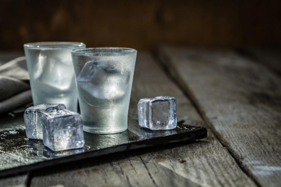 Produkcja wódki w 2017 roku spadła o ponad 4 proc.