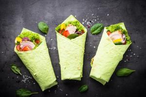 Kolorowe tortille w trzech smakach od Sandry