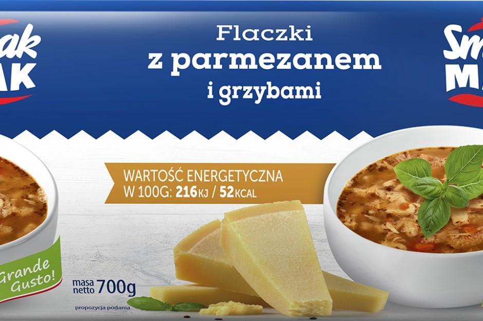 SmakMak wprowadza flaczki z parmezanem i grzybami