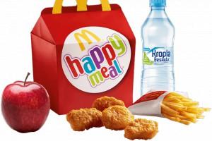 McDonald's wprowadza globalne zmiany w ofercie dla dzieci