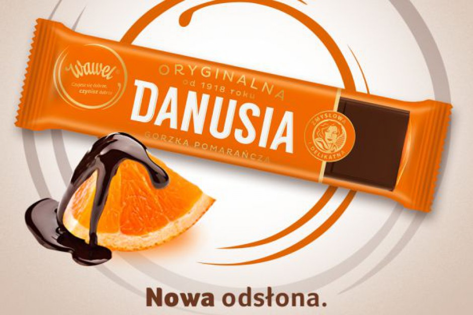 Wawel: czekoladka Danusia w nowej odsłonie i w nowym smaku